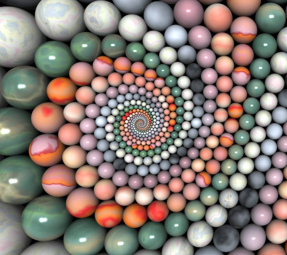 Marbles In Circle