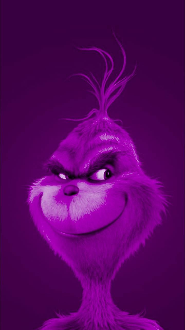 The Grinch in Purple
