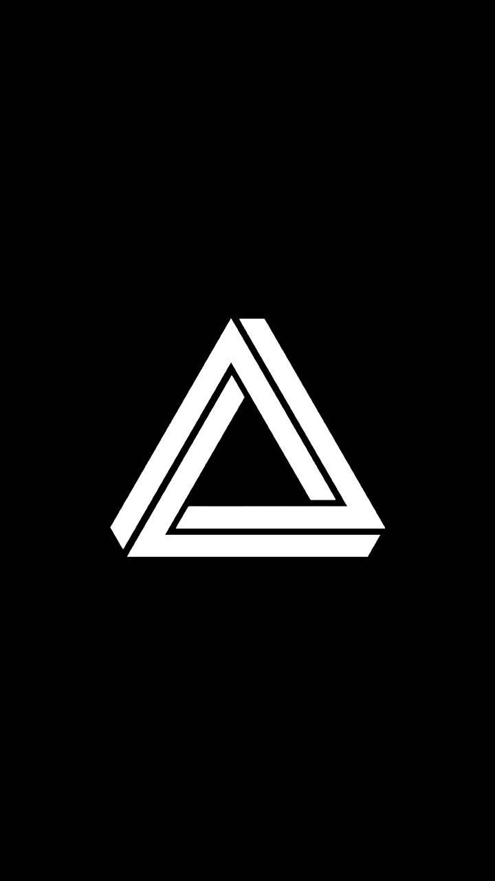 Penrose Triangle BW