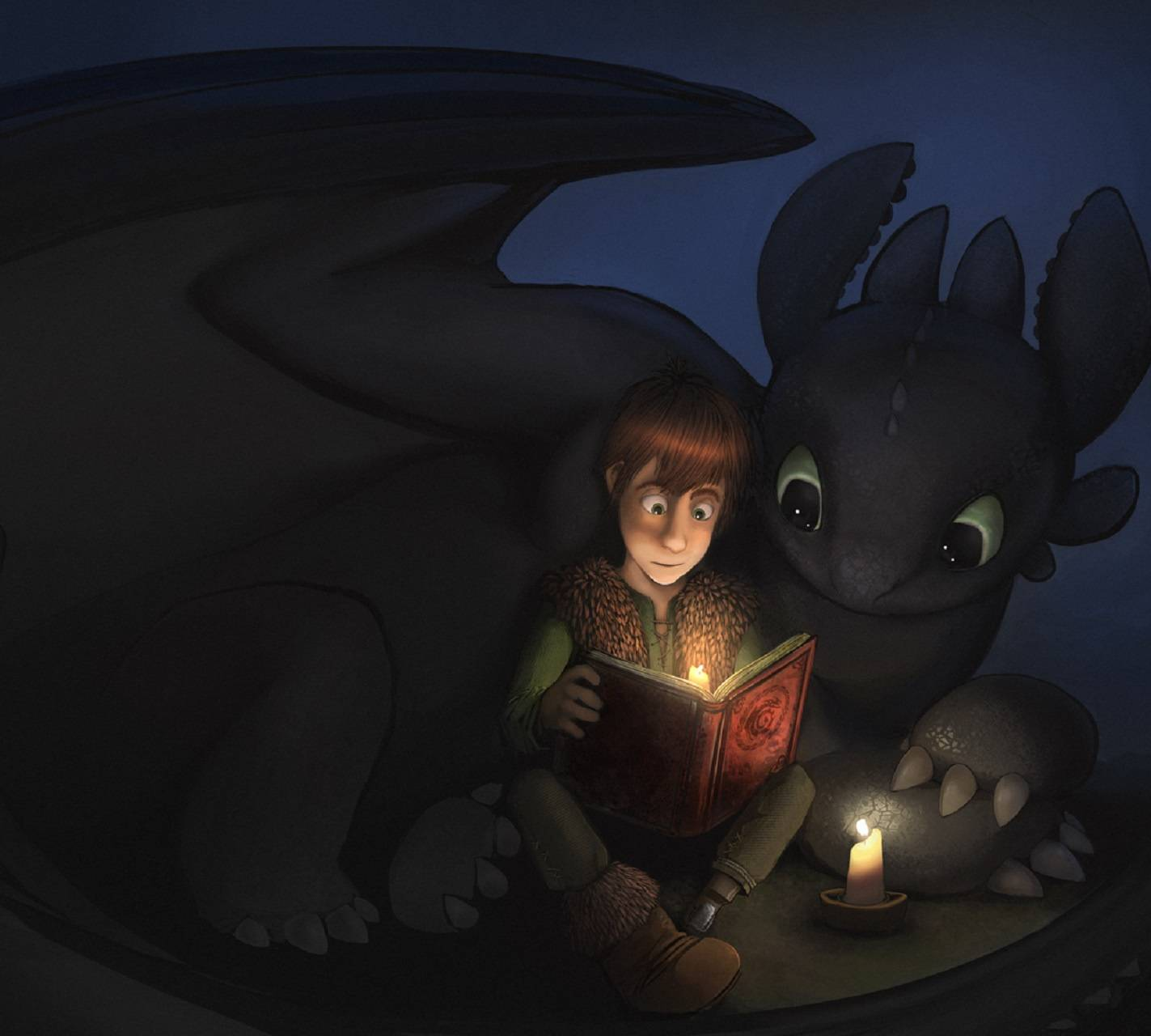 Toothless Wallpaper: Toothless Wallpaper By Fish_fingers