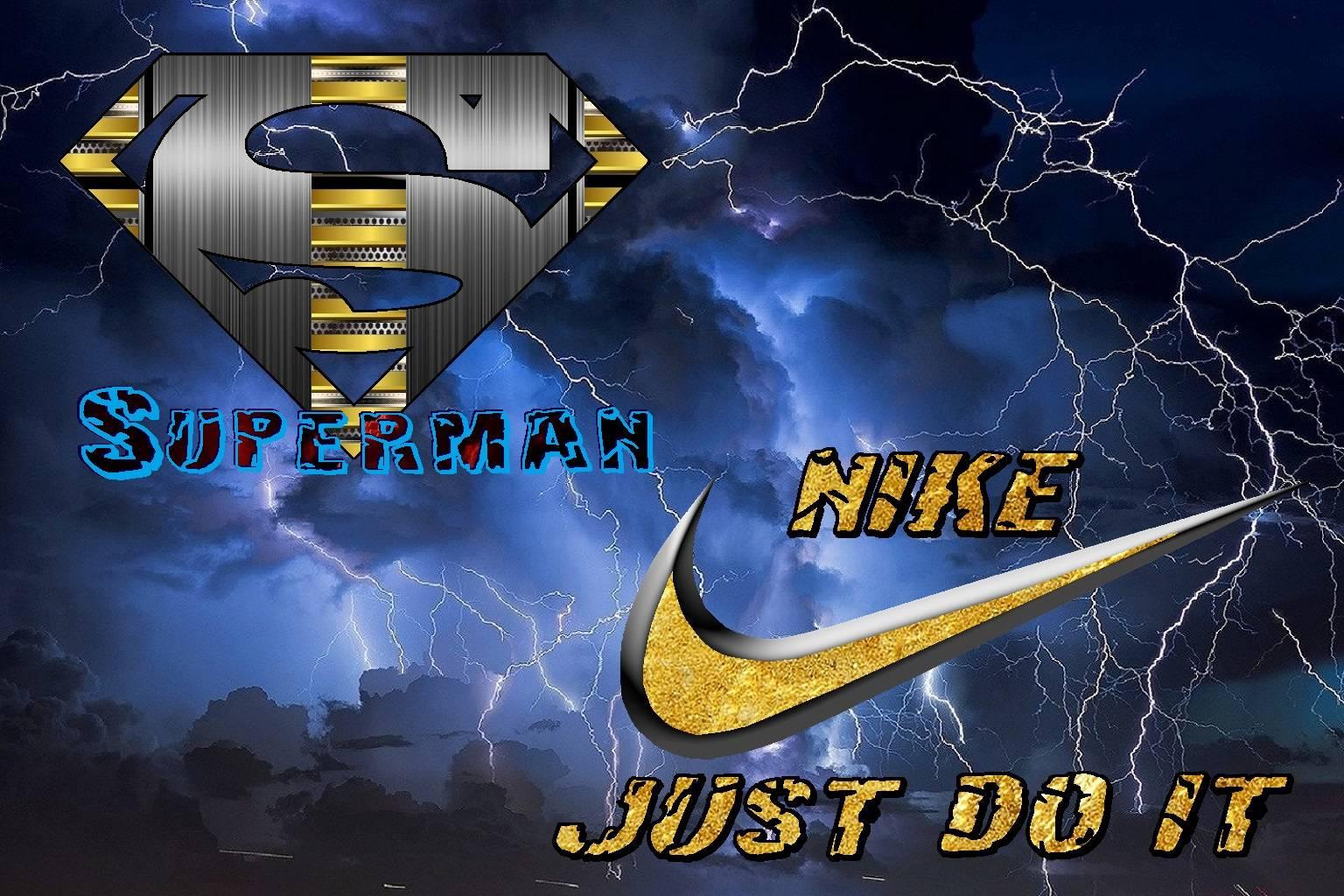 Superman vs Nike
