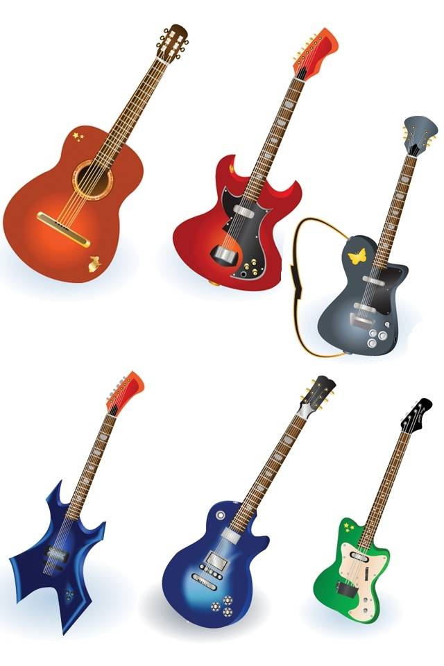 Colourful Guitar