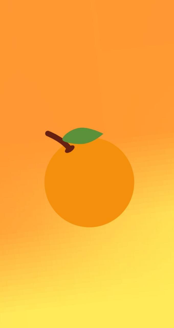 SnapChat Orange