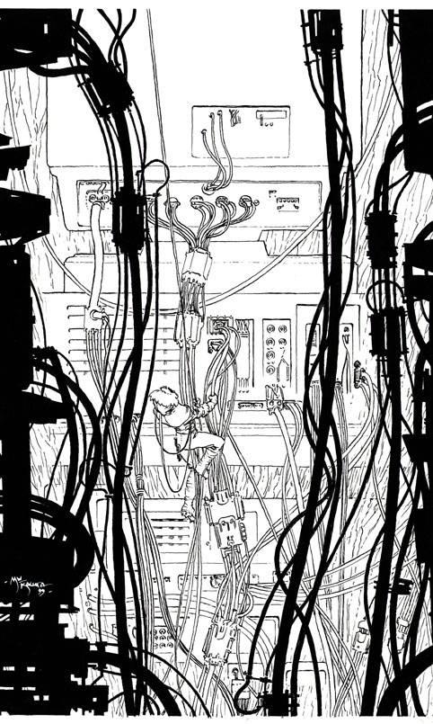 matrix comics pin-up