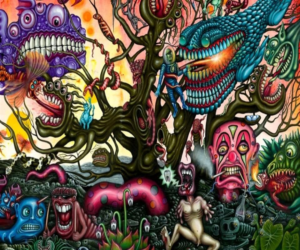 Psychedelic Landscap