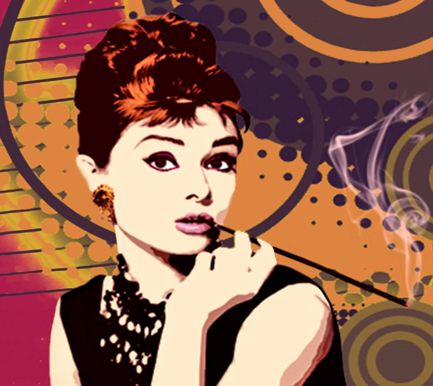 Retro Audrey