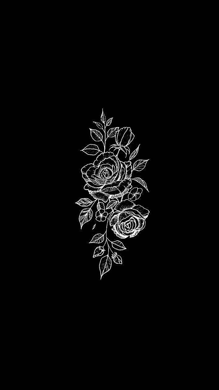 Flower Black White Wallpaper By Sprigamelvirus B2 Free On Zedge