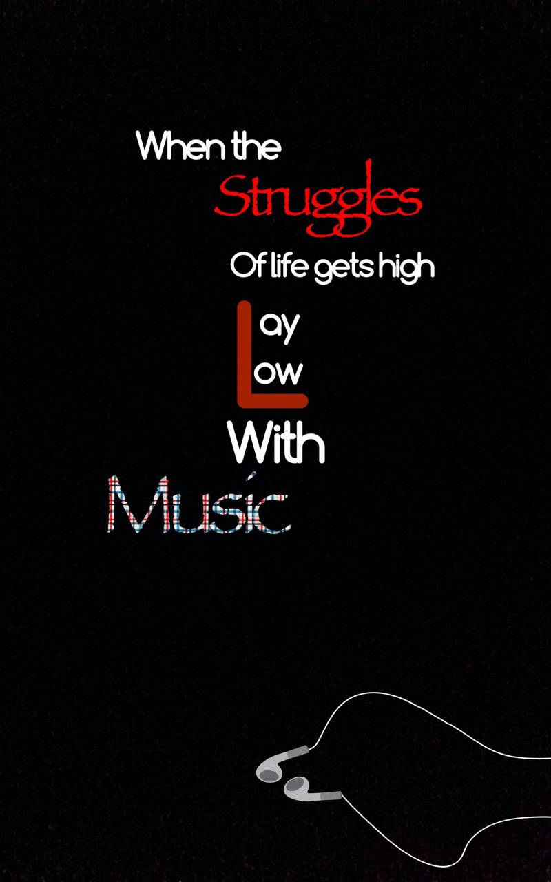 Lay with music