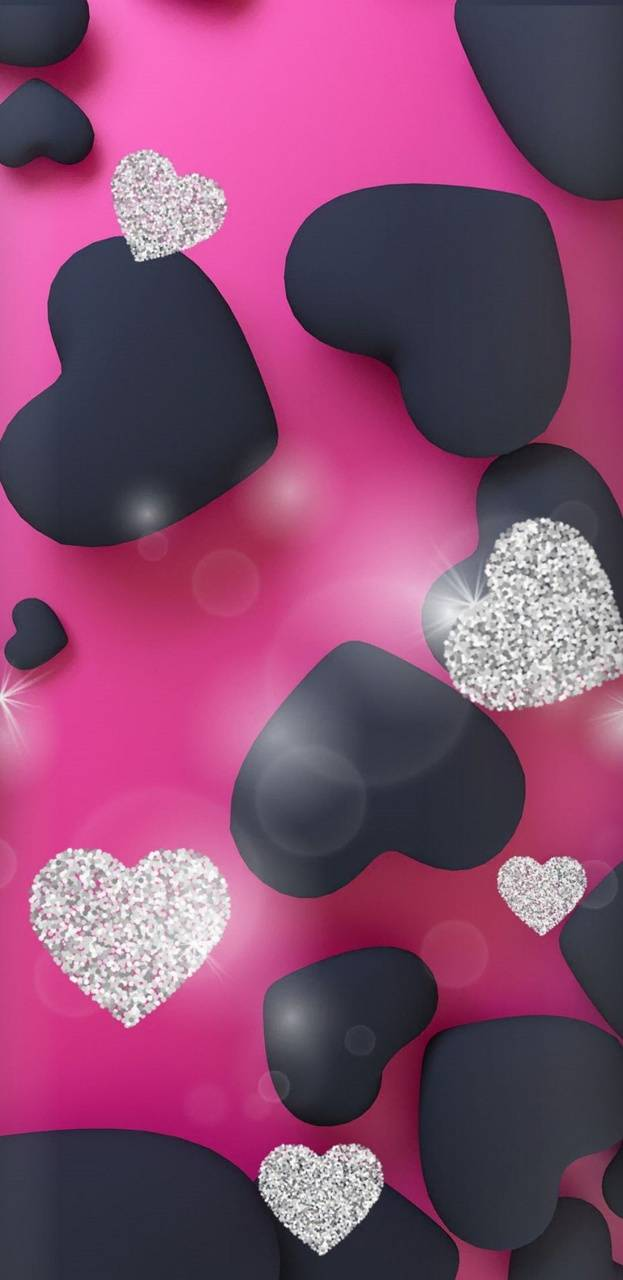 Pretty Hearts Wallpaper By Nikkifrohloff C9 Free On Zedge