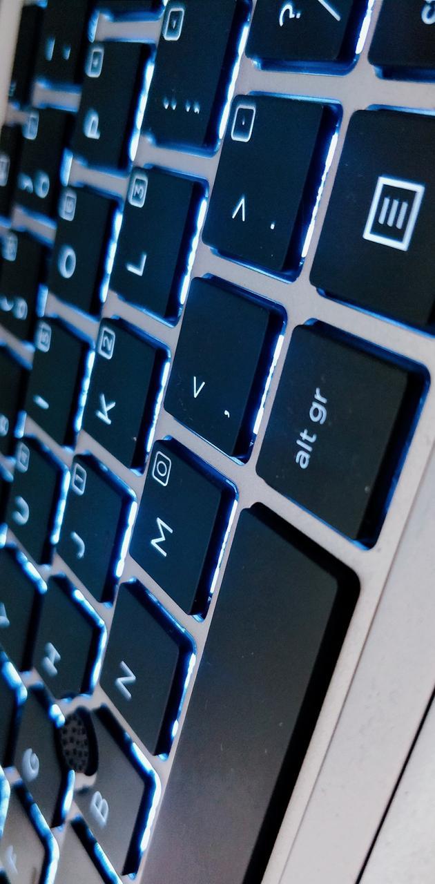 Lit Keyboard