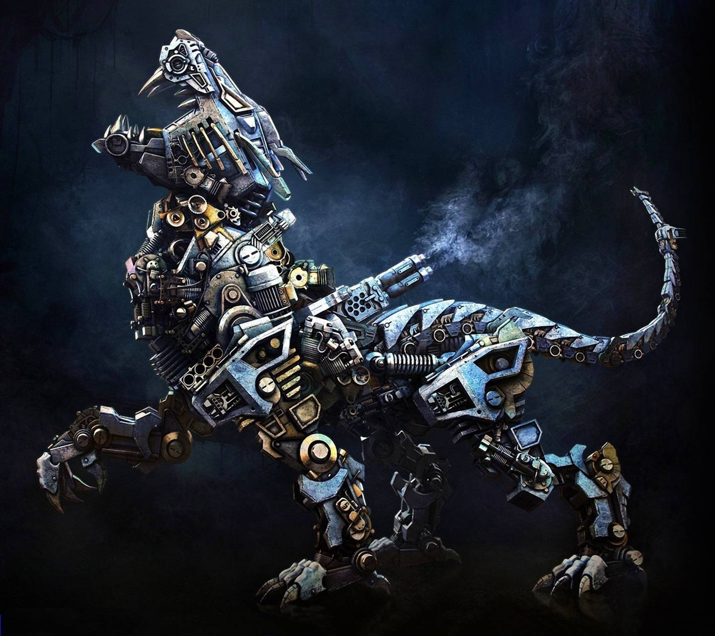 robot dragon wallpaper by quindit 59 free on zedge