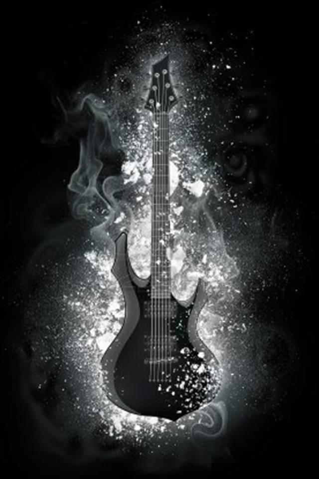 Black Guitar Wallpaper By Vampibunny 62 Free On Zedge