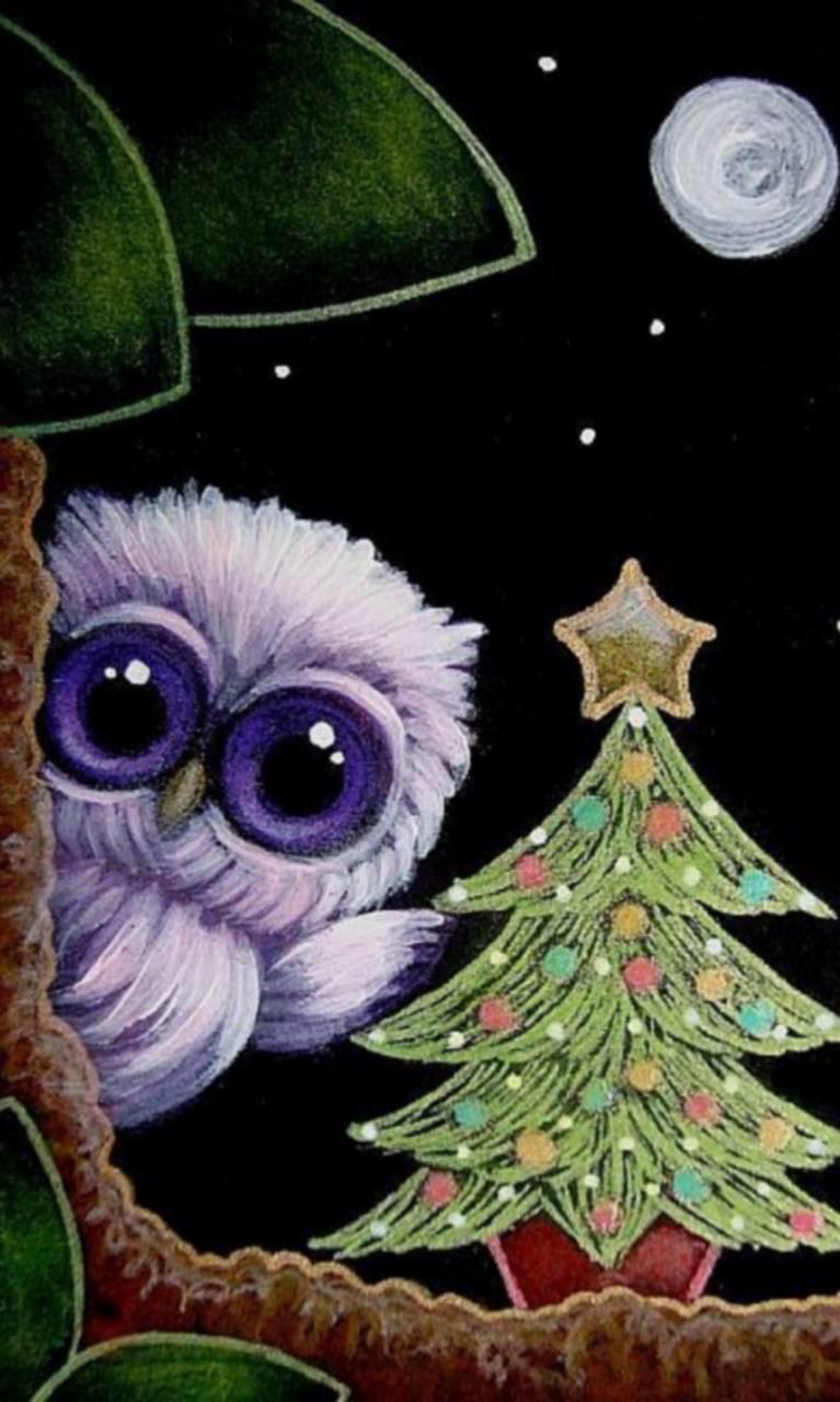 owl christmas