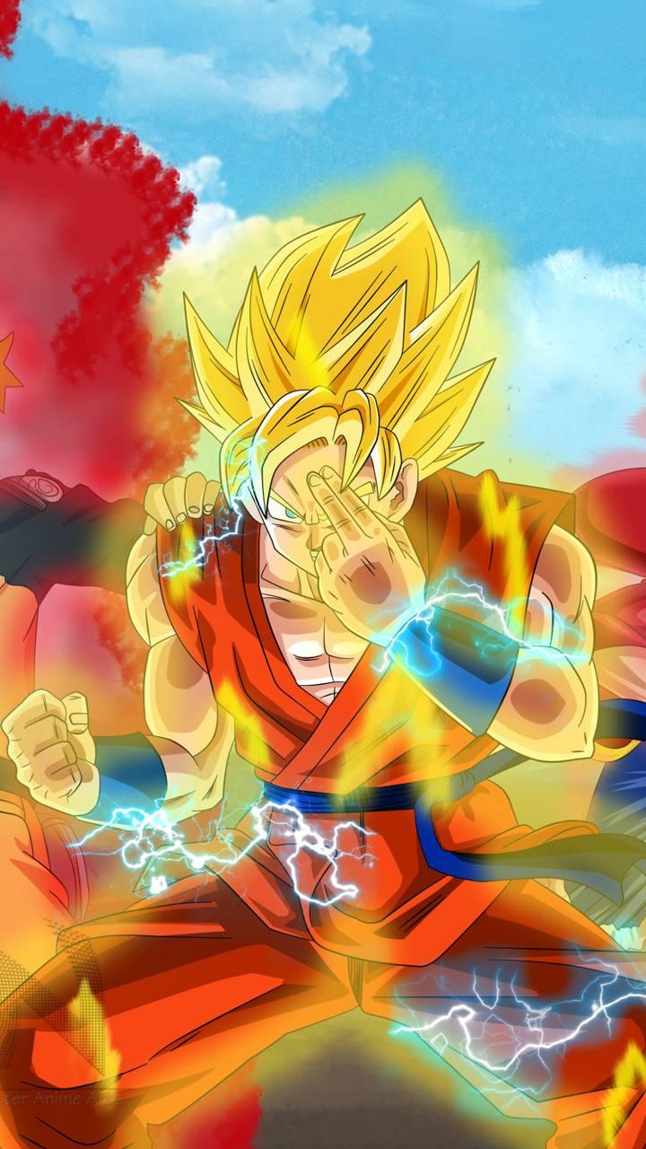 Goku Ssj2 Wallpaper By Jonas10br F1 Free On Zedge
