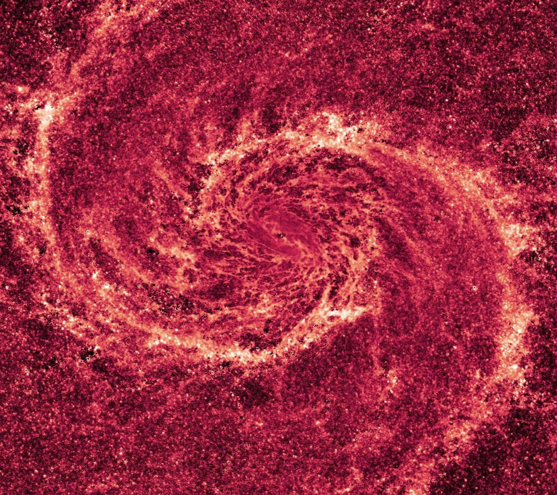 Spiral Fire Galaxy