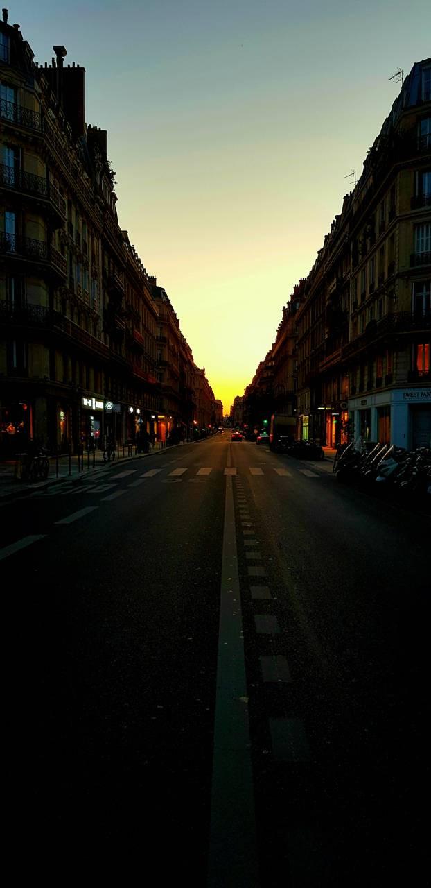 Paris Horizon Sunset