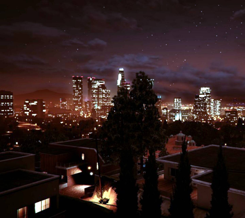 Los Santos at Night