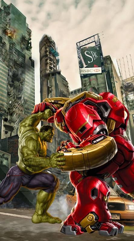 Hulk vs HulkBuster