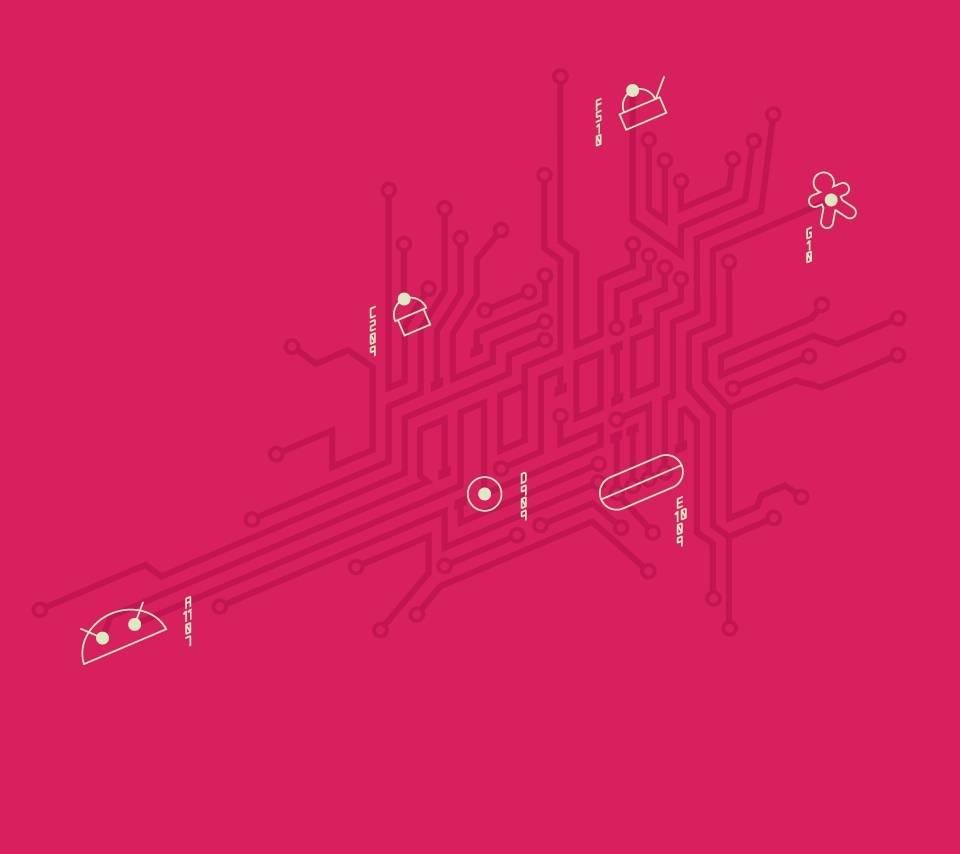 Android Schema Pink