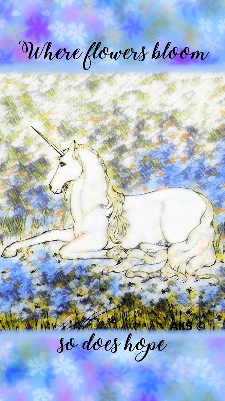 Hope Unicorn art