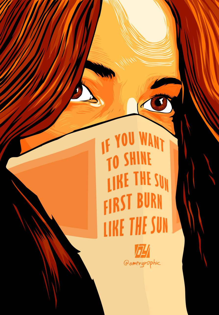 Sun Digital Art