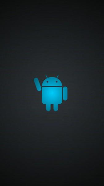Blue Android