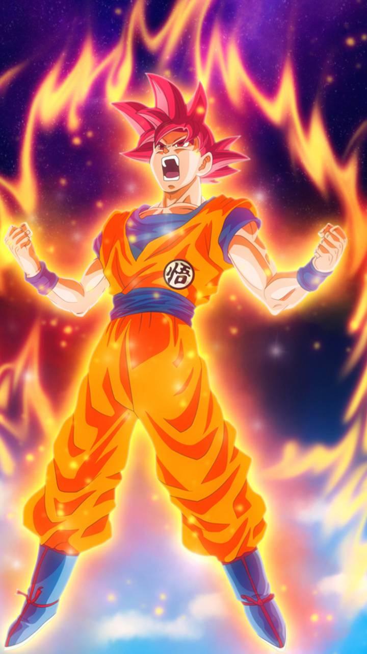 Goku Sayayin God