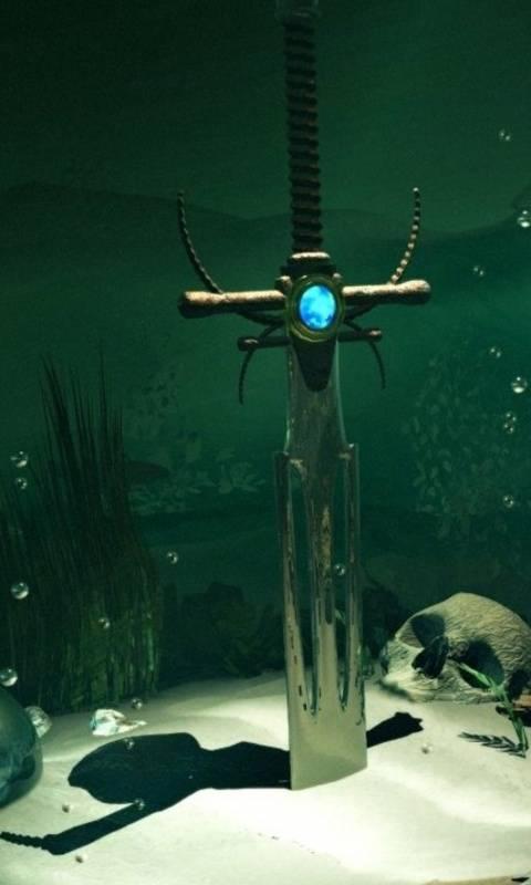 Sword In The Water X