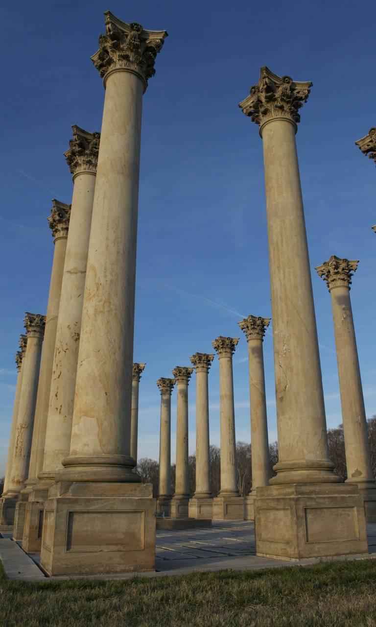 Old Capitol Columns