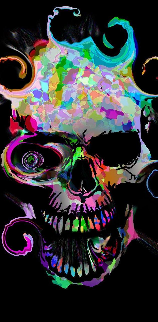 Colors skull
