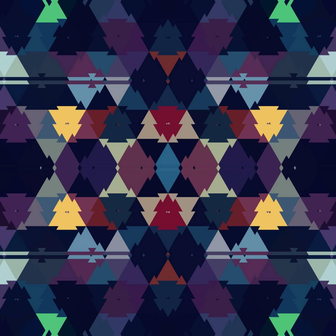 Triangle Mandala