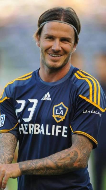 Beckham Happy