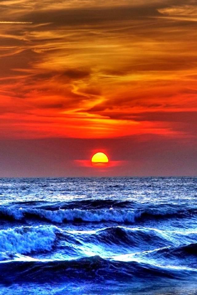 hd dusk ocean