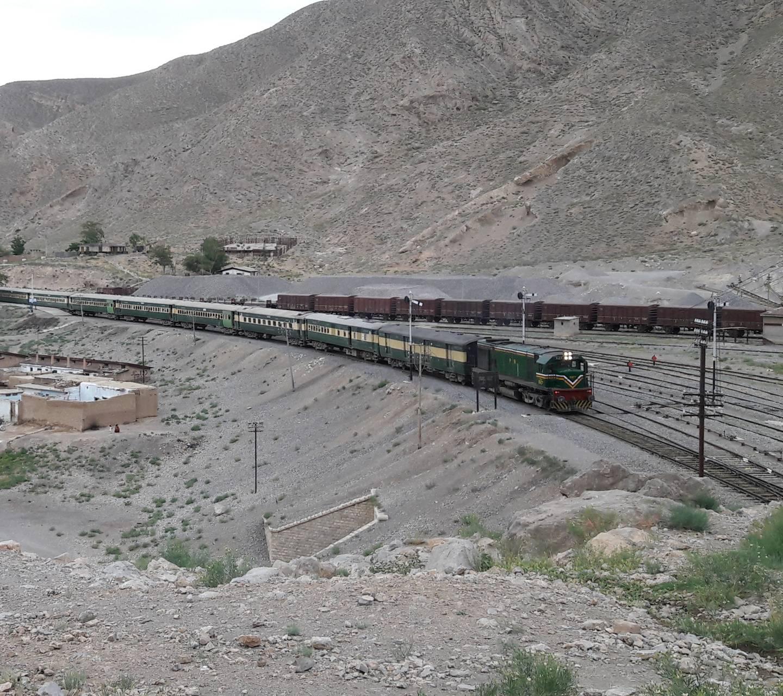 BALOCHISTAN railway