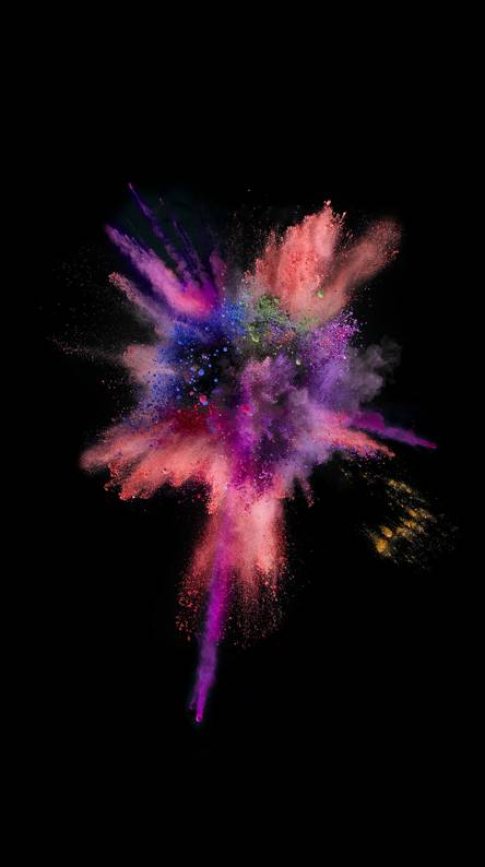 Explosion HD IOS 9 Color Abstract