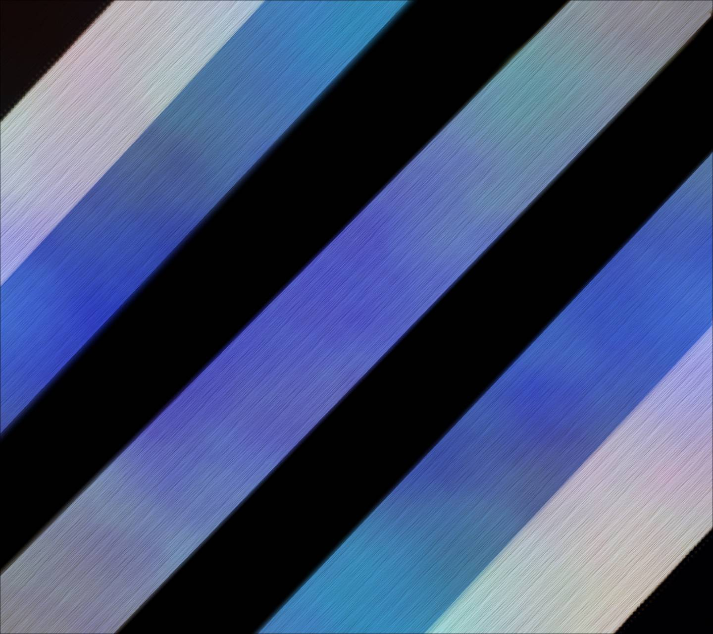 Blue Black Wall