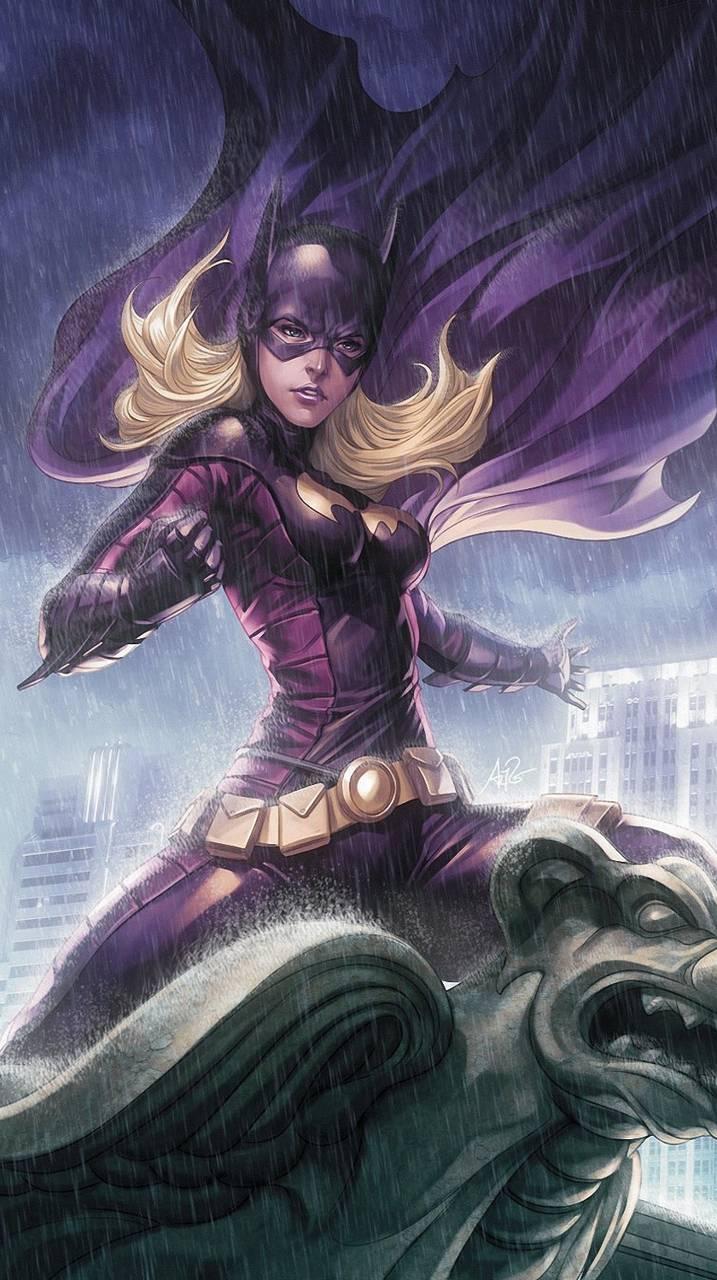 Batgirl In Rain