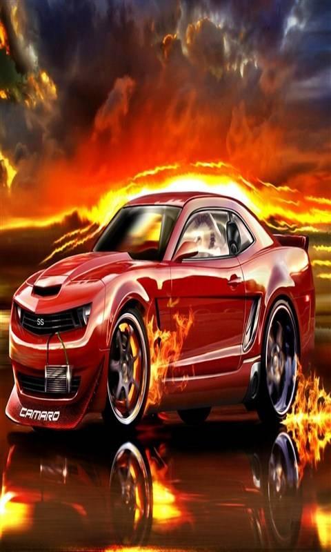 Burning Car7