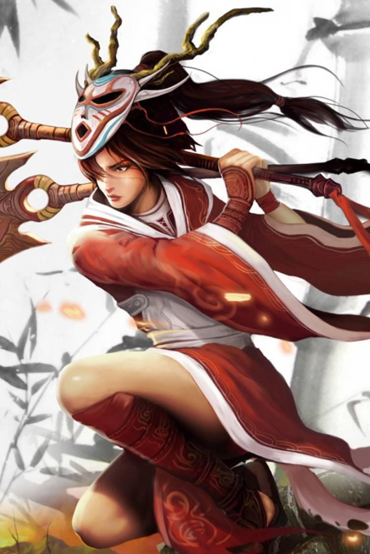 Bloodmoon Akali Wallpaper By Tecchi