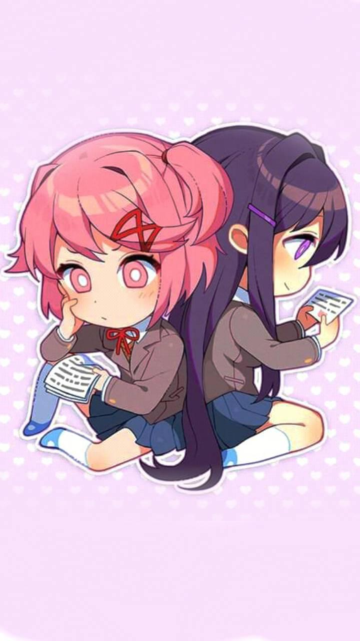 Natsuki and Yuri
