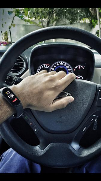 Hyundai car Interior