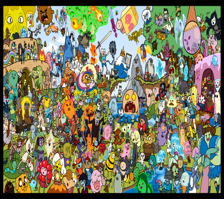 Adventure Time colla