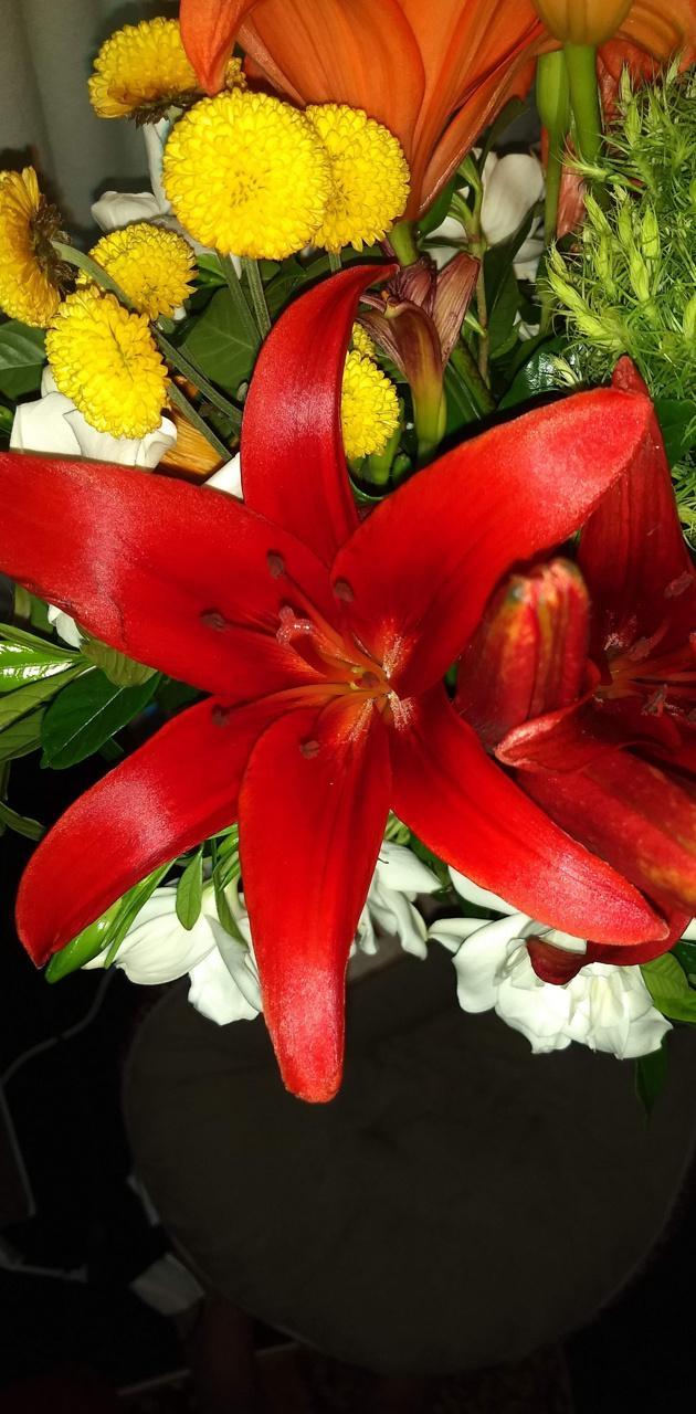 Homegrown bouquet