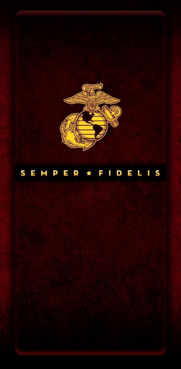 USMC Scarlet EGA