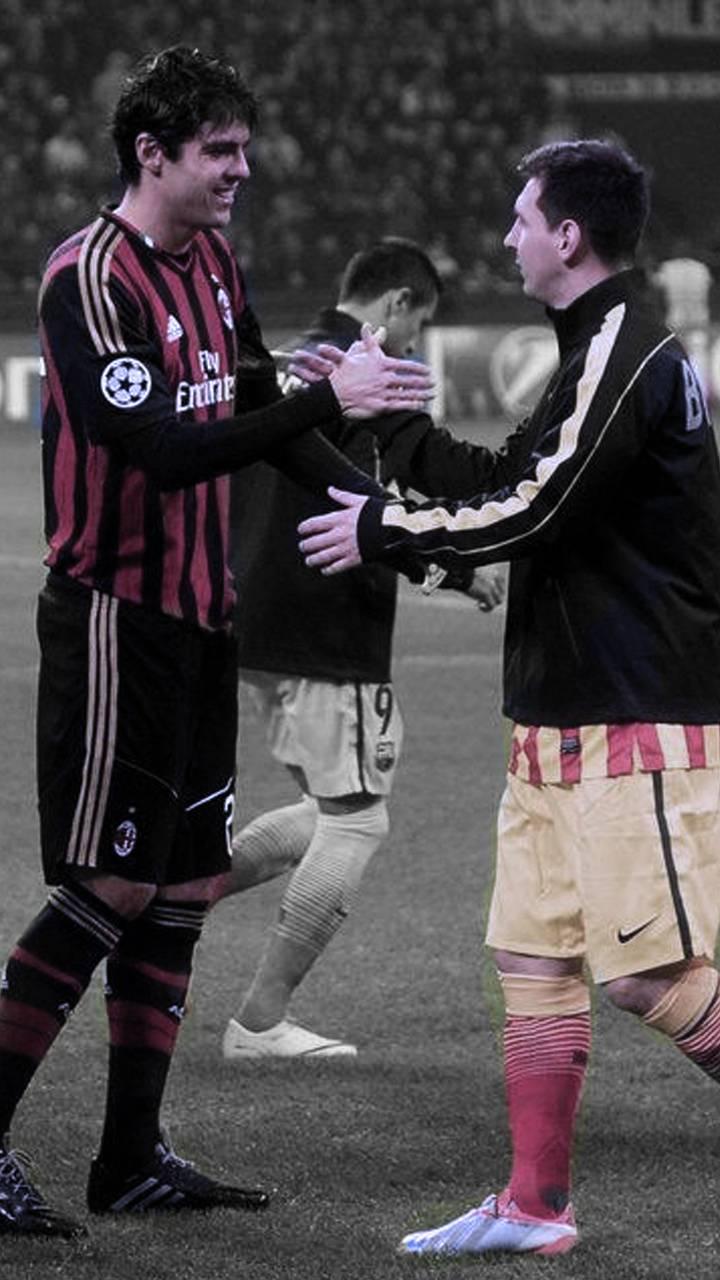 Messi and Kaka