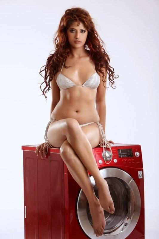 Girl Washing Machine