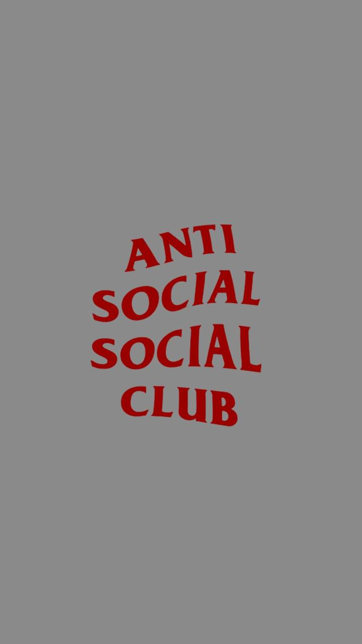 anti social wallpaper by RyleighHanicq