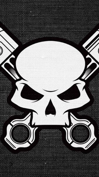 Skull-pistons