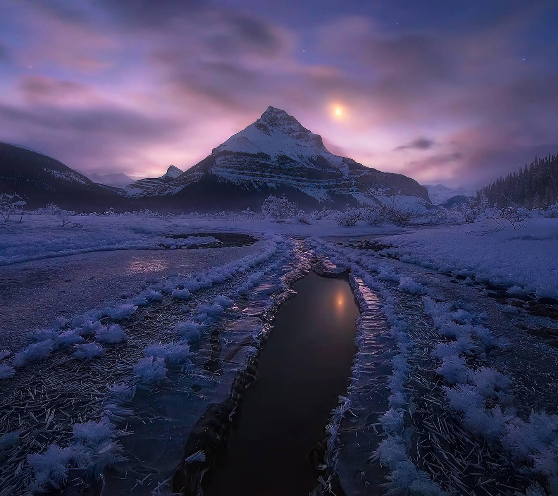 Canada Winter Night