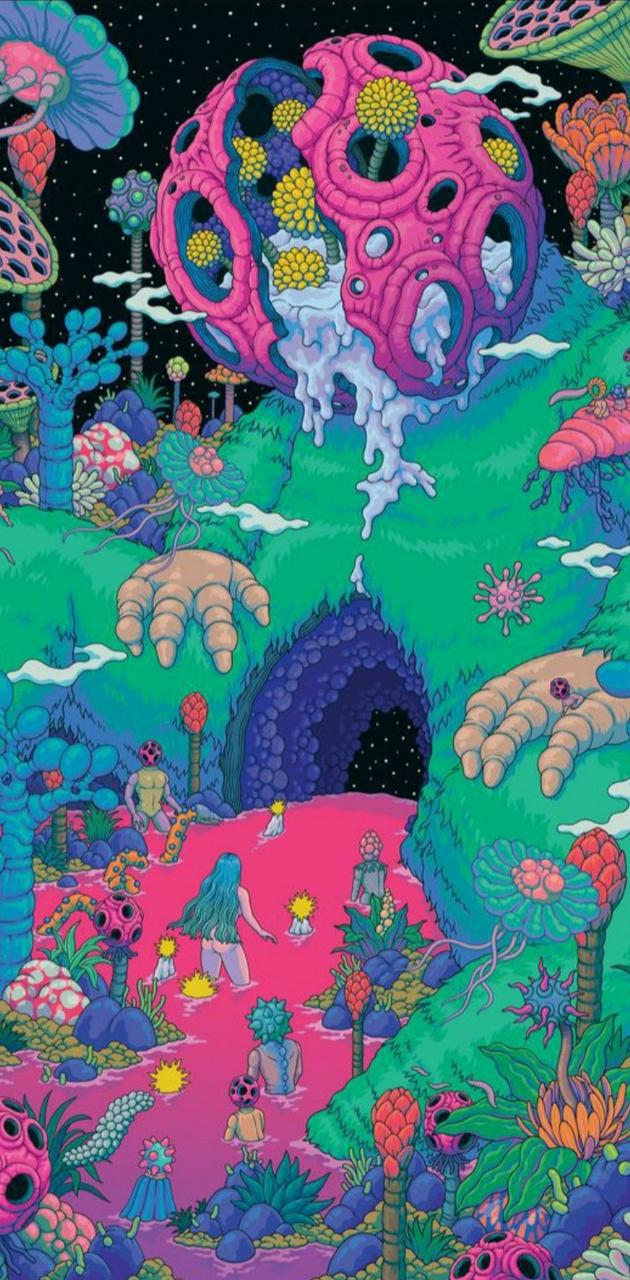 Planete psychedelic